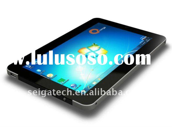 Tablet pc 10 inch windows7 and android2.2 dual system Intel Atom N455 capacitive multi-touch 3G phon