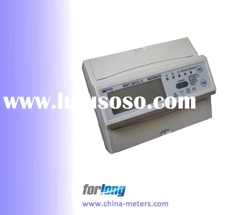 Three phase Din rail MODBUS energy meter
