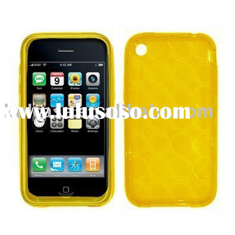 Top popular TPU soft case for iphone 3G/3GS case