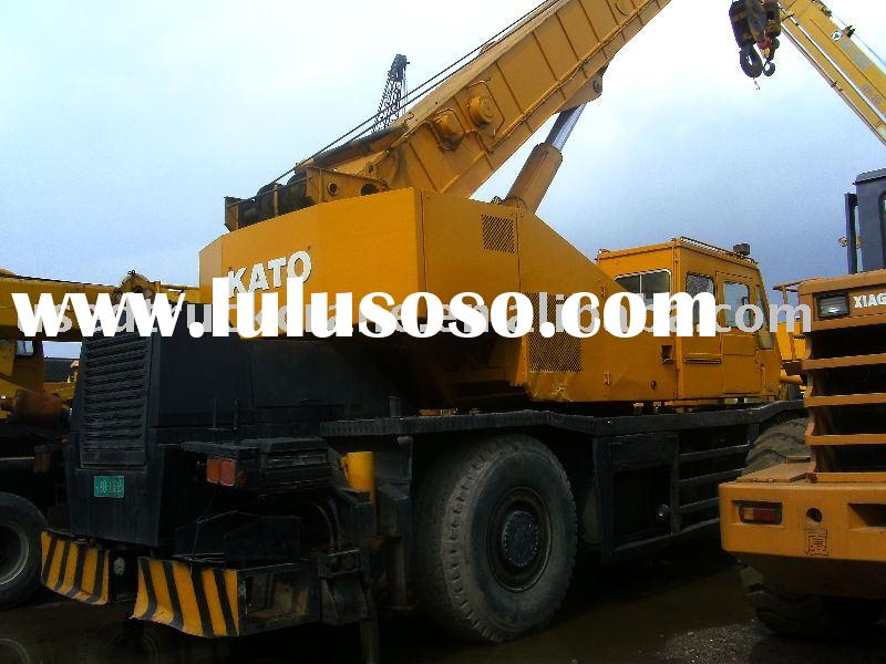 Used Rough Terrain Crane --- Kato 45T