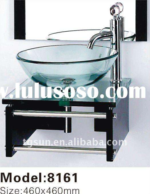 Wall-Mounted Glass Countertop Basin