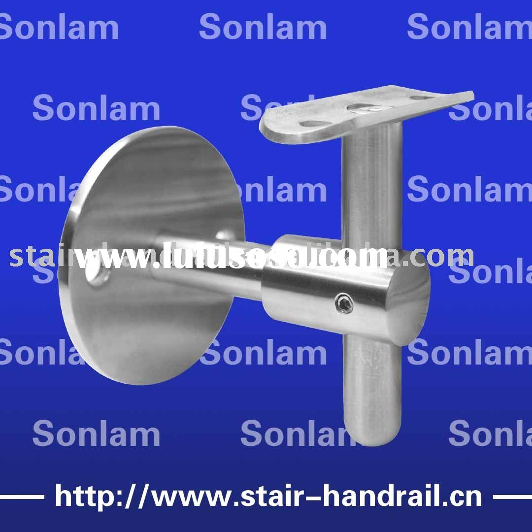 Wall mounted handrail bracket