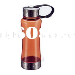 Water Bottle,Bottle,PC Water Bottle With Stainless Steel Lid And Base