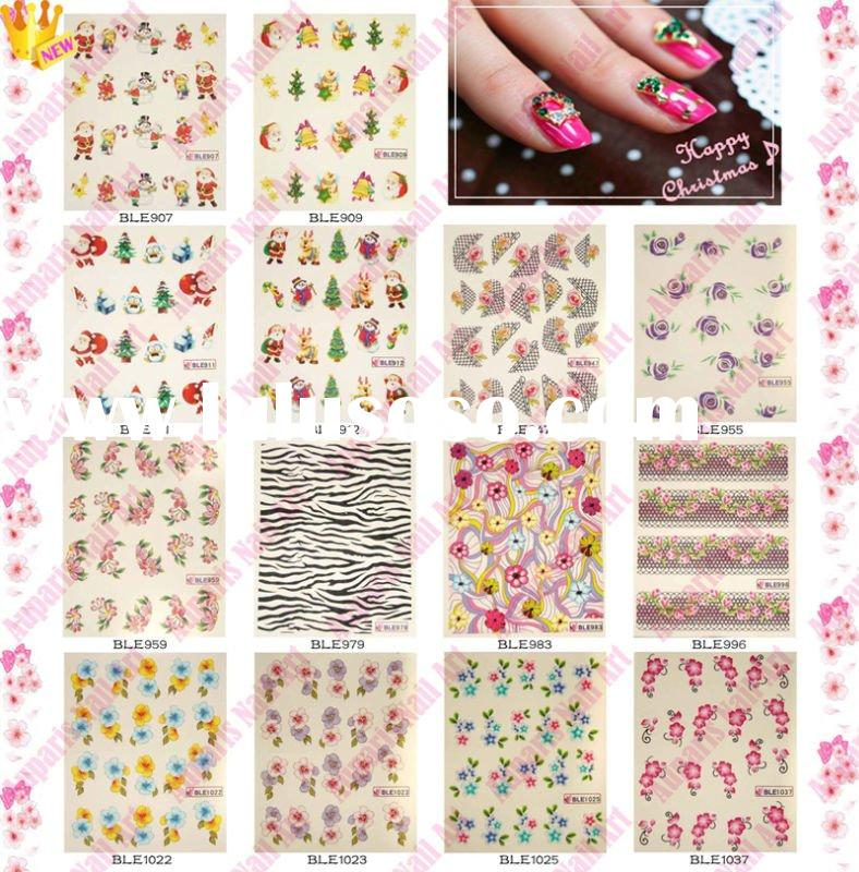 Nail art decals transfers stickers images transfer nail art stickers prinsesfo Gallery