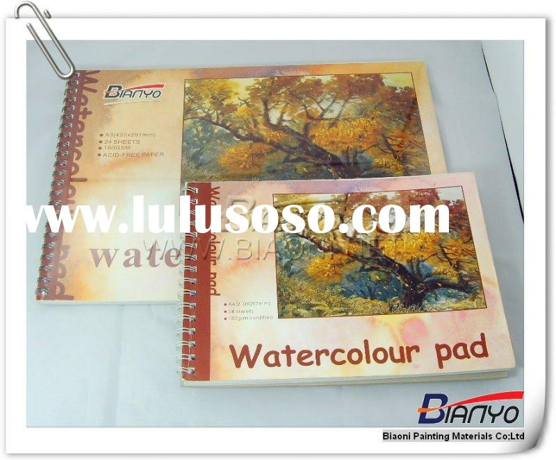 Water colour Pad,Drawing exercise book,Painting paper,Sketch book