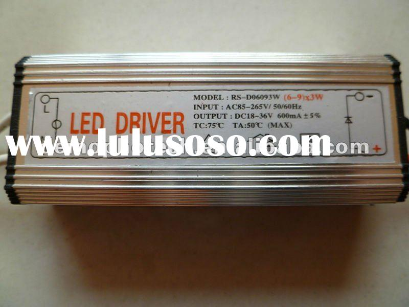 Waterproof Constant Current (6-9)*3W LED Driver
