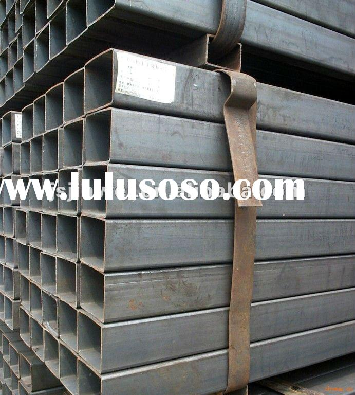 Welded or seamless tubes carbon steel square pipe (Q235,Q345)
