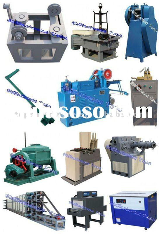 Welding electrodes production line/welding electrode making plant