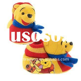 Winnie the Pooh cartoon kids slippers for Toddlers