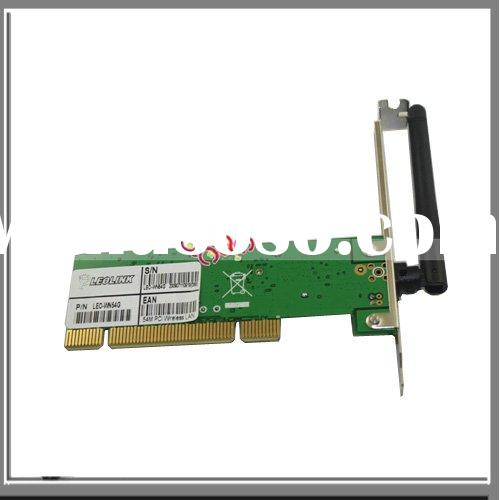 Wireless G 54 54Mbps LAN Network Adapter Card PCI WIFI