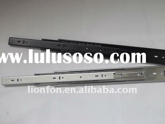[45mm]Heavy Loading Zinc Drawer Slider/Ball Bearing Full Extension Drawer Rail /Furniture Parts [Fer