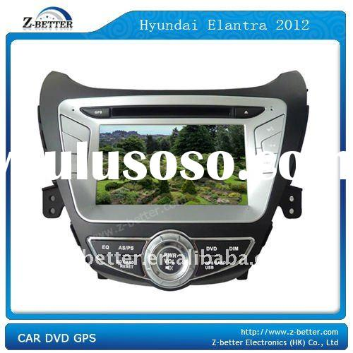 (NEW!!!)7IN DVD PLAYER for Car Hyundai Elantra 2012 with GPS,Bluetooth