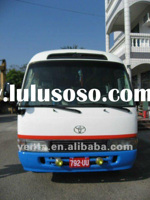(SOLD) used toyota coaster - (792-UU) - japan mini bus