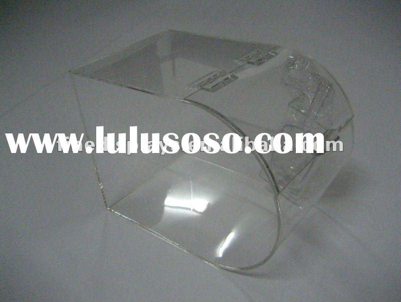 acrylic bulk candy bin with scoop holder (FD-A-250)