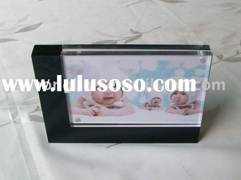 acrylic photo frame & acrylic photo stand & plexiglass photo holder