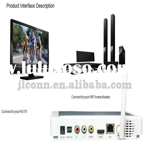 android 2.2 iptv set top box with hdmi wifi