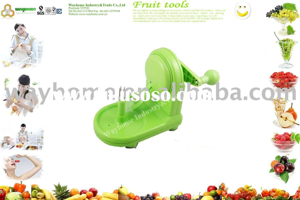 apple peeler,apple corer,apple cutter,apple divider,apple splitter,pear slicer,fruit knife,apple wed