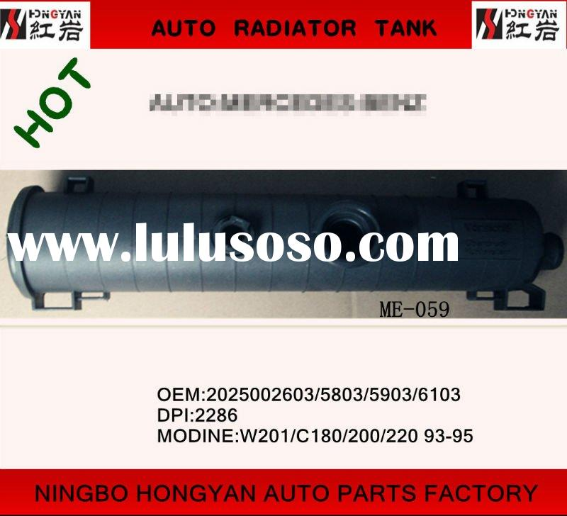 auto radiator plastic tank and car tank for Mercedes-benz ,auto parts for W201