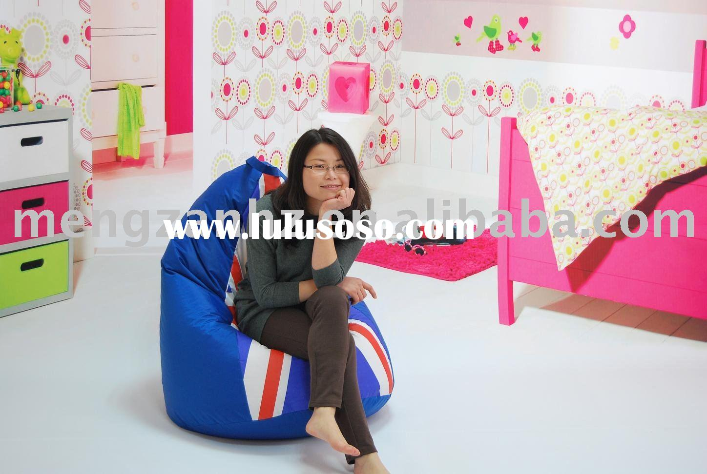 bean bag chair with UK Flag