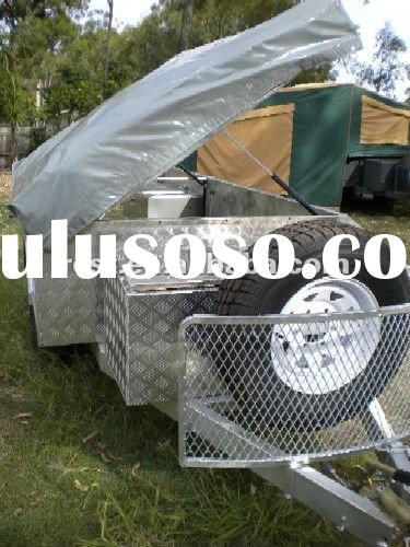 best choice for family camping galvanzied trailer and off road camper trailer