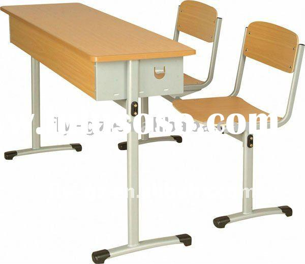 best school desks and chairs/new school chairs/double school desk and chair