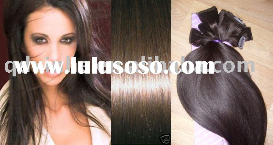 cheap hair clip in hair extension