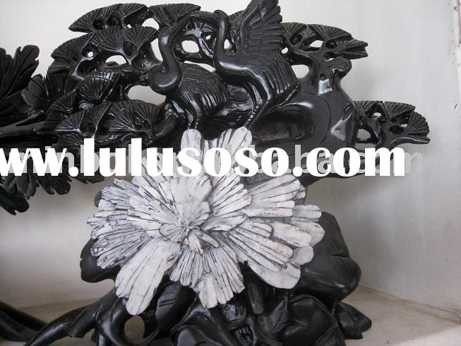 chrysanthemum stone carving and sculpture home decoration