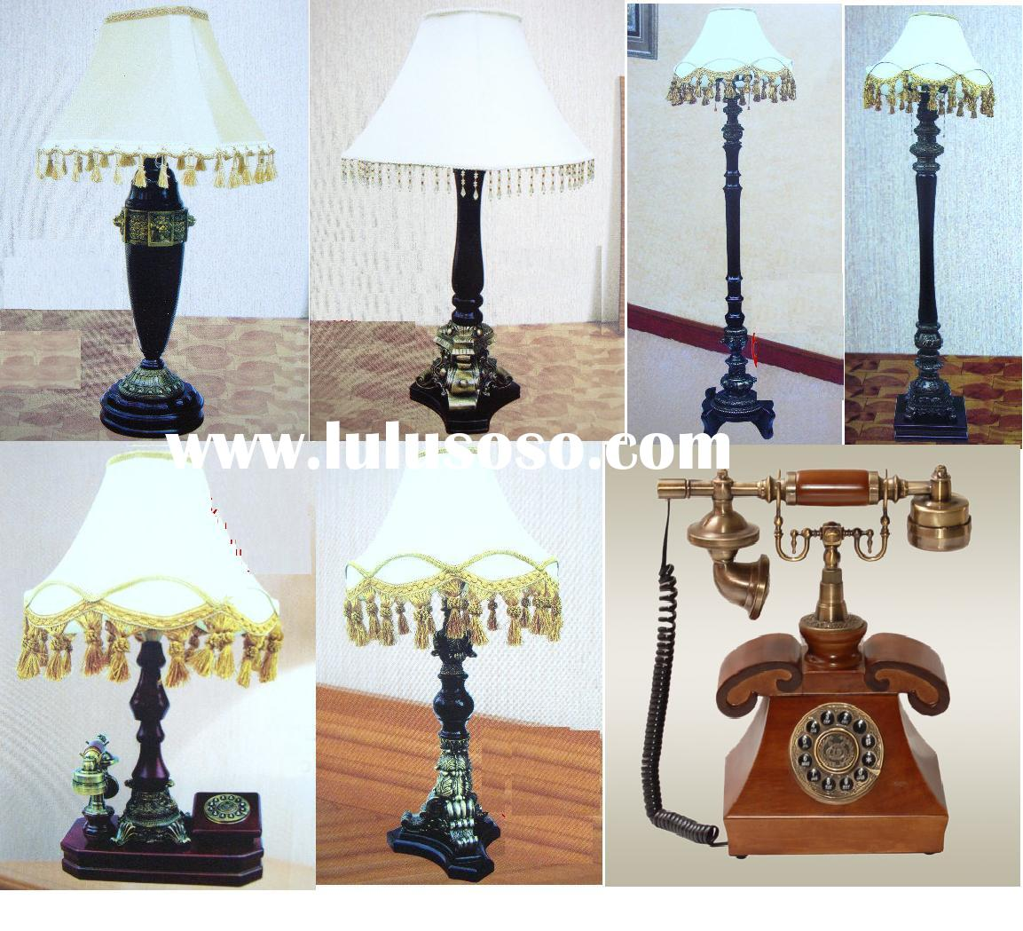 classical table lamp/table lamp/antique telephone