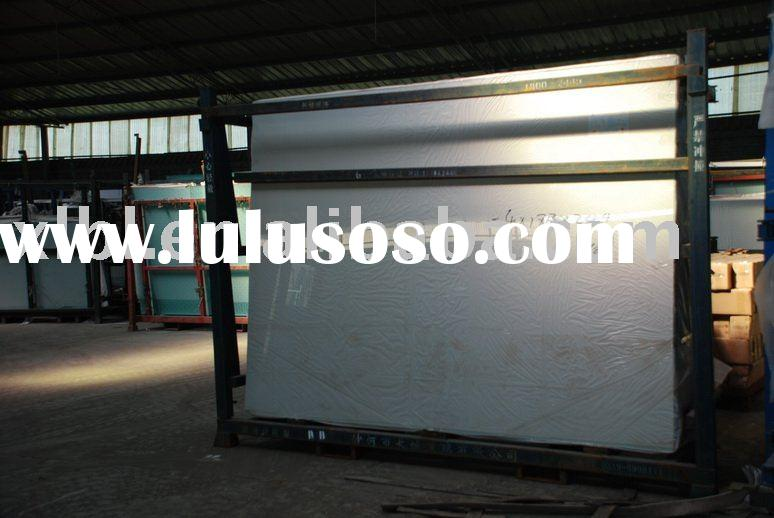 clear and tinted float glass sheet