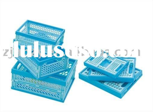 collapsible plastic container/box/bin/cases