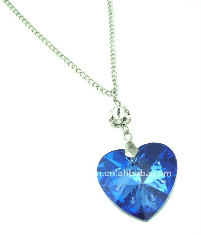 costume jewelry heart necklace