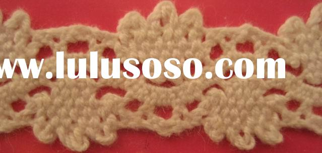 cotton crochet Lace, cotton lace, lace trim