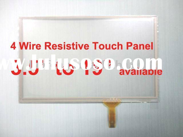 custom-made 7.0 7.4 8.0 8.4 8.9 10.2 inch 4 wire Resistive Touch Panel Screen