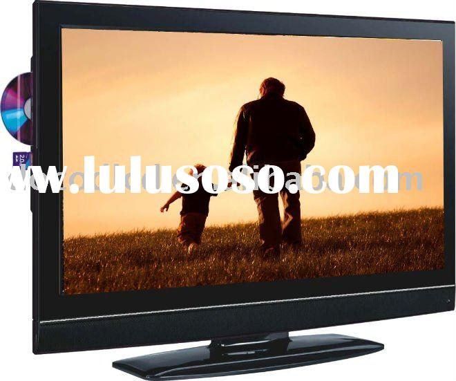direct manufacture full HD 1080p tft 24'' lcd tv with usb dvd combo