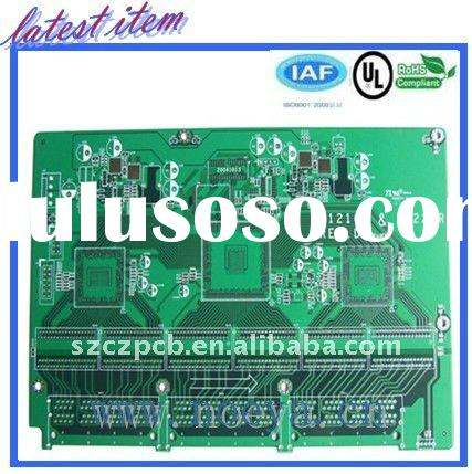 double layer PCB circuit for loudspeaker amplifier