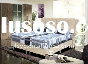 european style modern leather bed (DL 036)