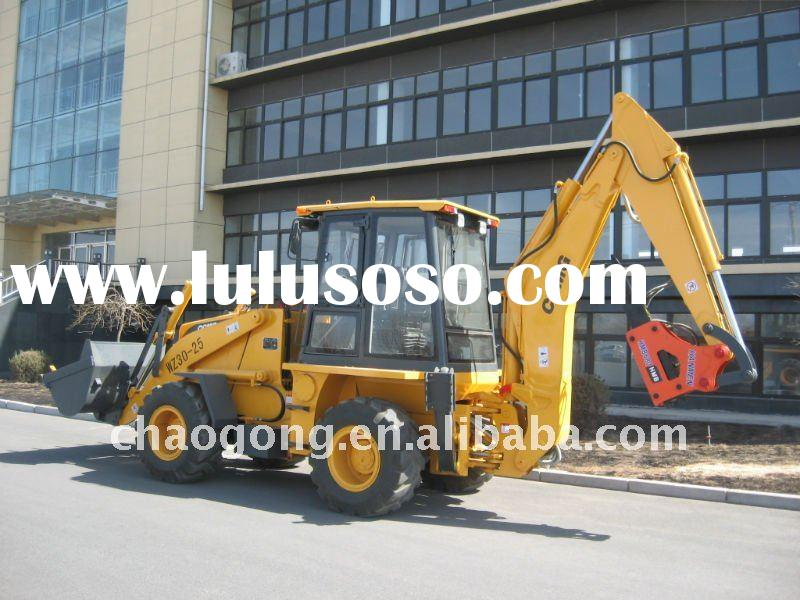 excavator loader WZ30-25 with hydraulic hammer