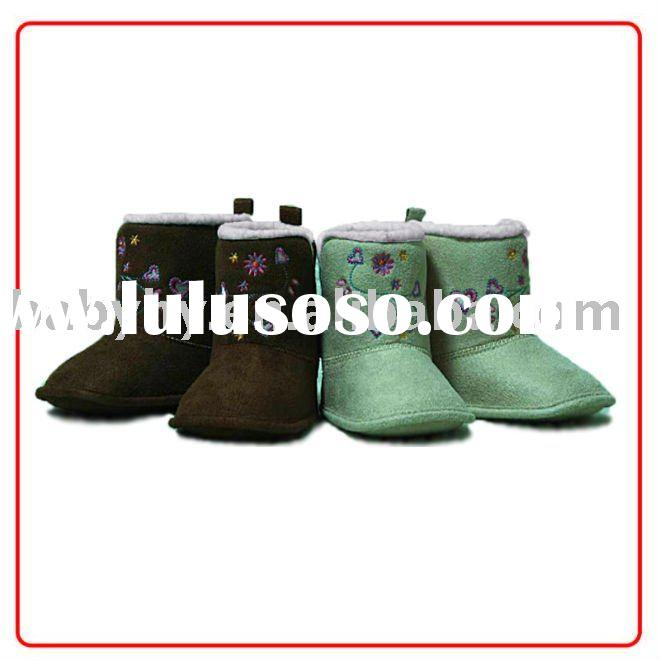 fashionable and hot design leather Baby Boots BH-WB051