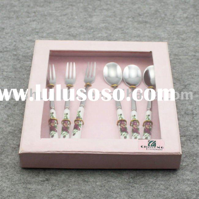 gift cutlery set stainless steel spoon and fork BS3003