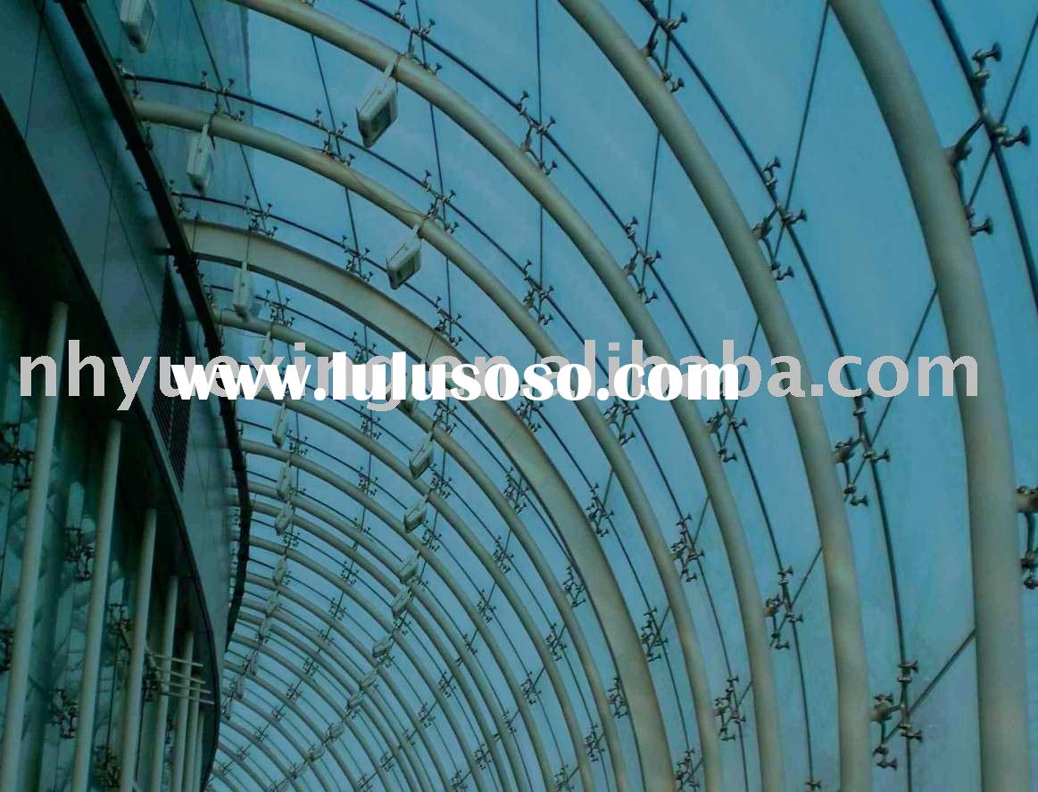 Spider Curtain Wall : Glass curtain wall spider