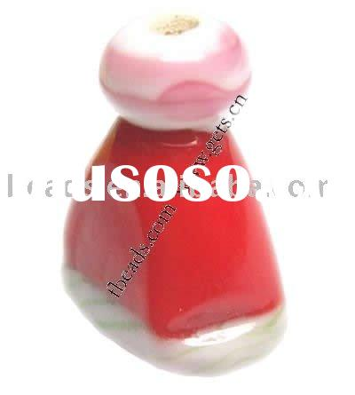 handmade glass beads Christmas Lamp work beads christmas decoration beads