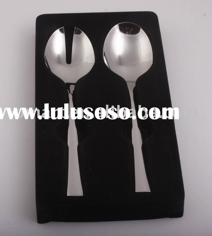 high grade Stainless steel dessert spoon and fork set