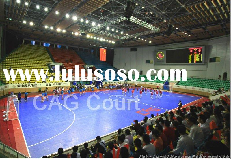 interlocking sports flooring for indoor soccer flooring
