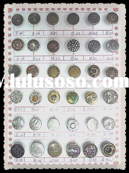 jeans button, iron jeans buttons and rivets,silver jeans button