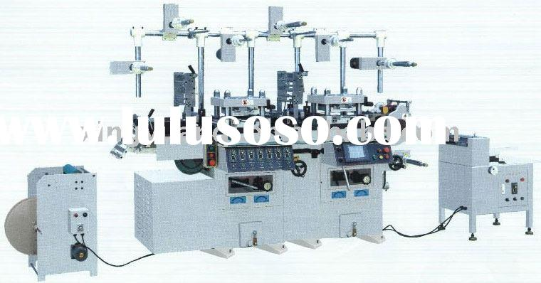 label and logo die-cutting machine