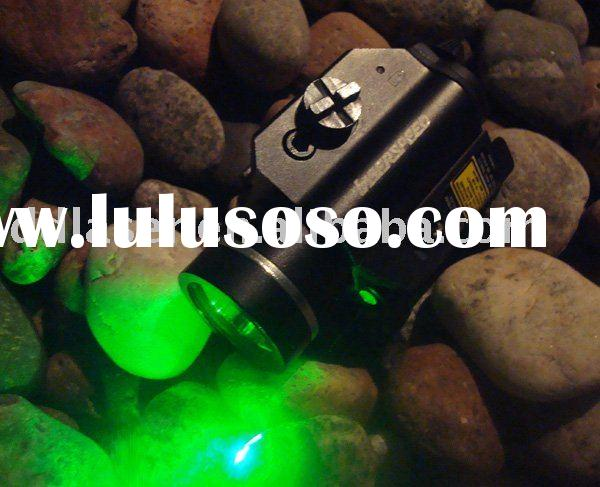laser/light combo,rail mounted green laser and LED light combo, pistol lasers, rifle lasers, weapon