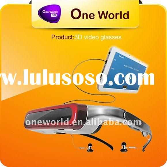 led video projector wireless video glasses 3d video projector