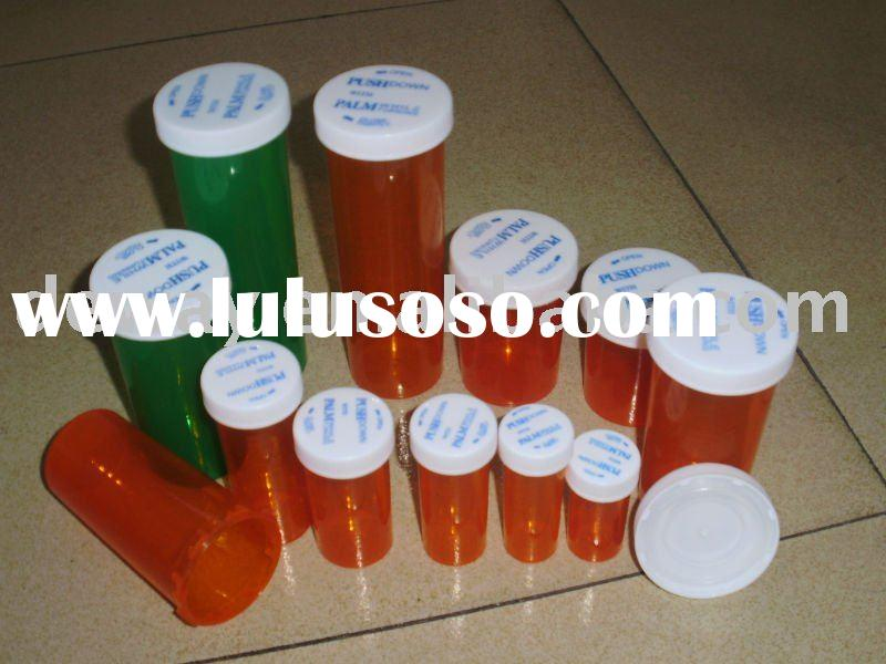 medicine vials,plastic vials,plastic jar medicine bottle reversible cap medicine bottle child resist