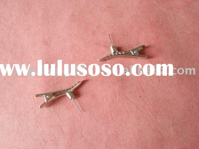 metal hair clips alligator clips metal clips alligator clips with spring top
