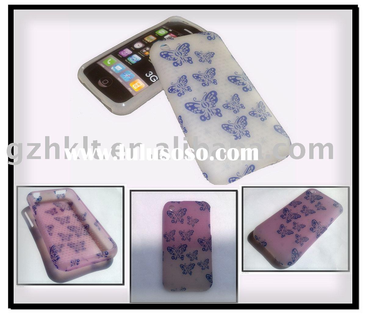 mobile phone case(Special TPU case for iphone 3G/3GS)Change in color under the sun!